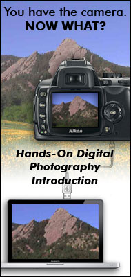 Hands-On Digital Photography Introduction