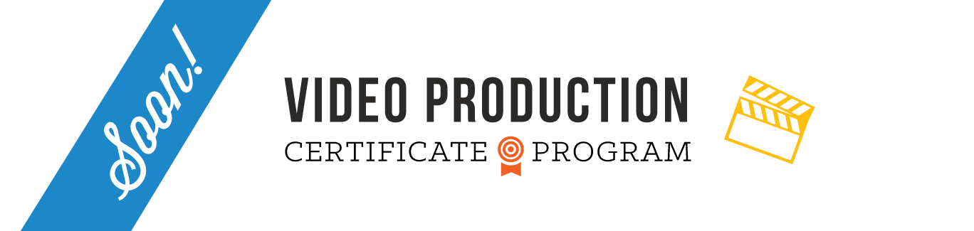 Video Production Certificate Program in Boulder Colorado