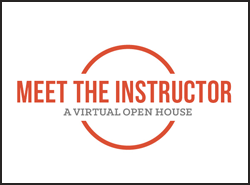 MEET THE INSTRUCTOR Open House - Video Production & Adobe Premiere Certificate Programs